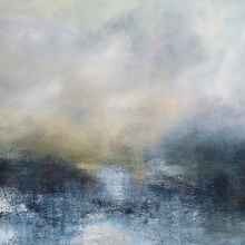 Water and Ice 65cm x 90cm