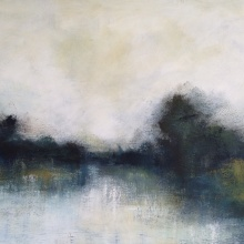 Secret Waters 60cm x 90cm