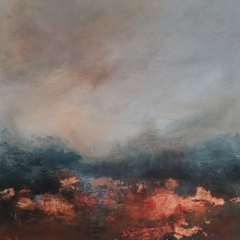 There's copper in the hills 50cm x 50cm