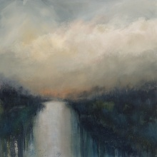 The End of the Day 76cm x 76cm